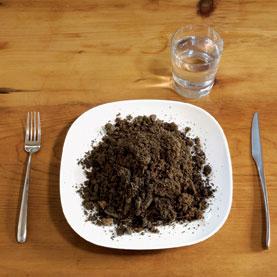 Eating-dirt